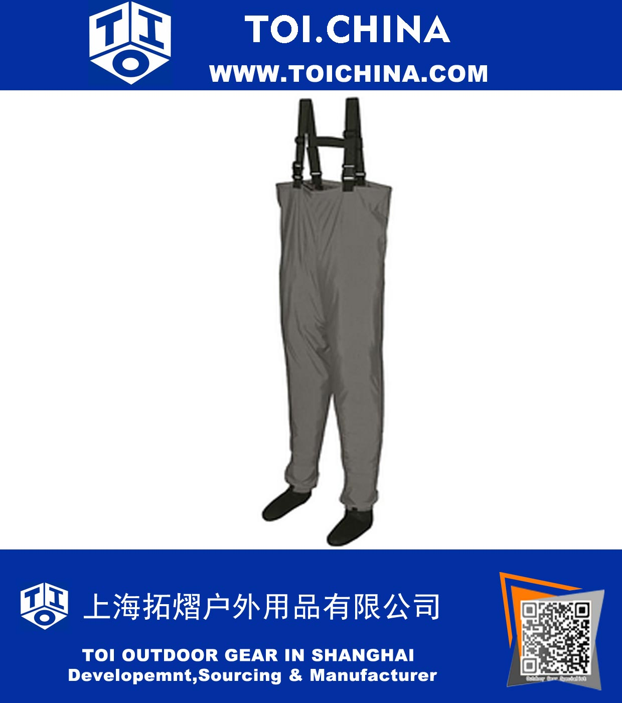 Breathable Stocking Wader, ZT-CK007