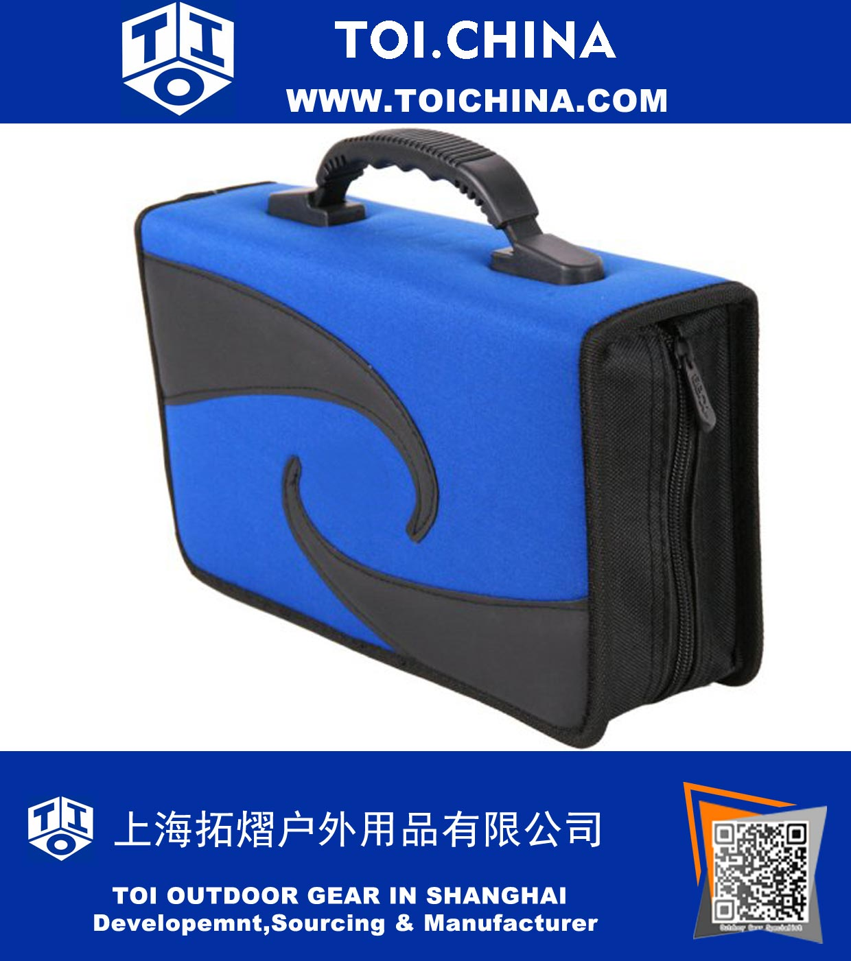 Disc CD Wallet Holder DVD Case Organizer Portfolio Binder, ZT-EF643