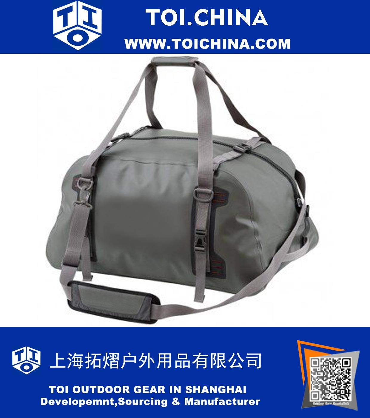 Fish Duffel Bag, ST-HA102