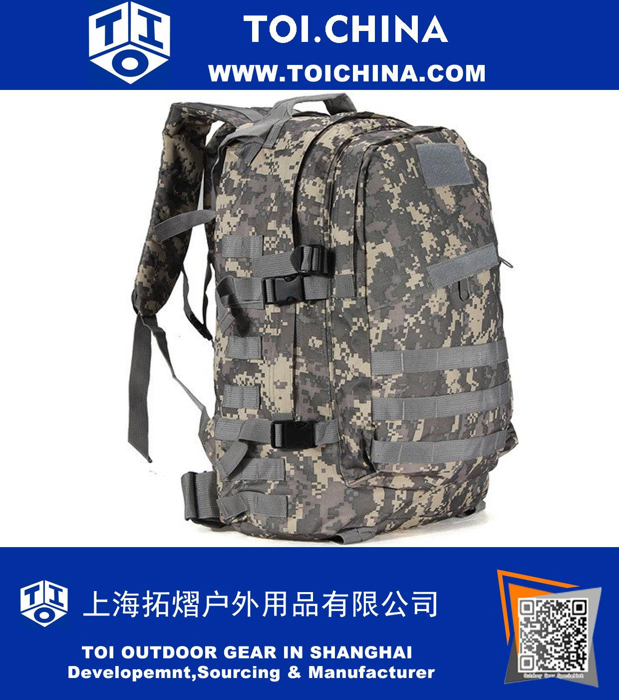 Military Style Tactical Backpack, ZT-AP002
