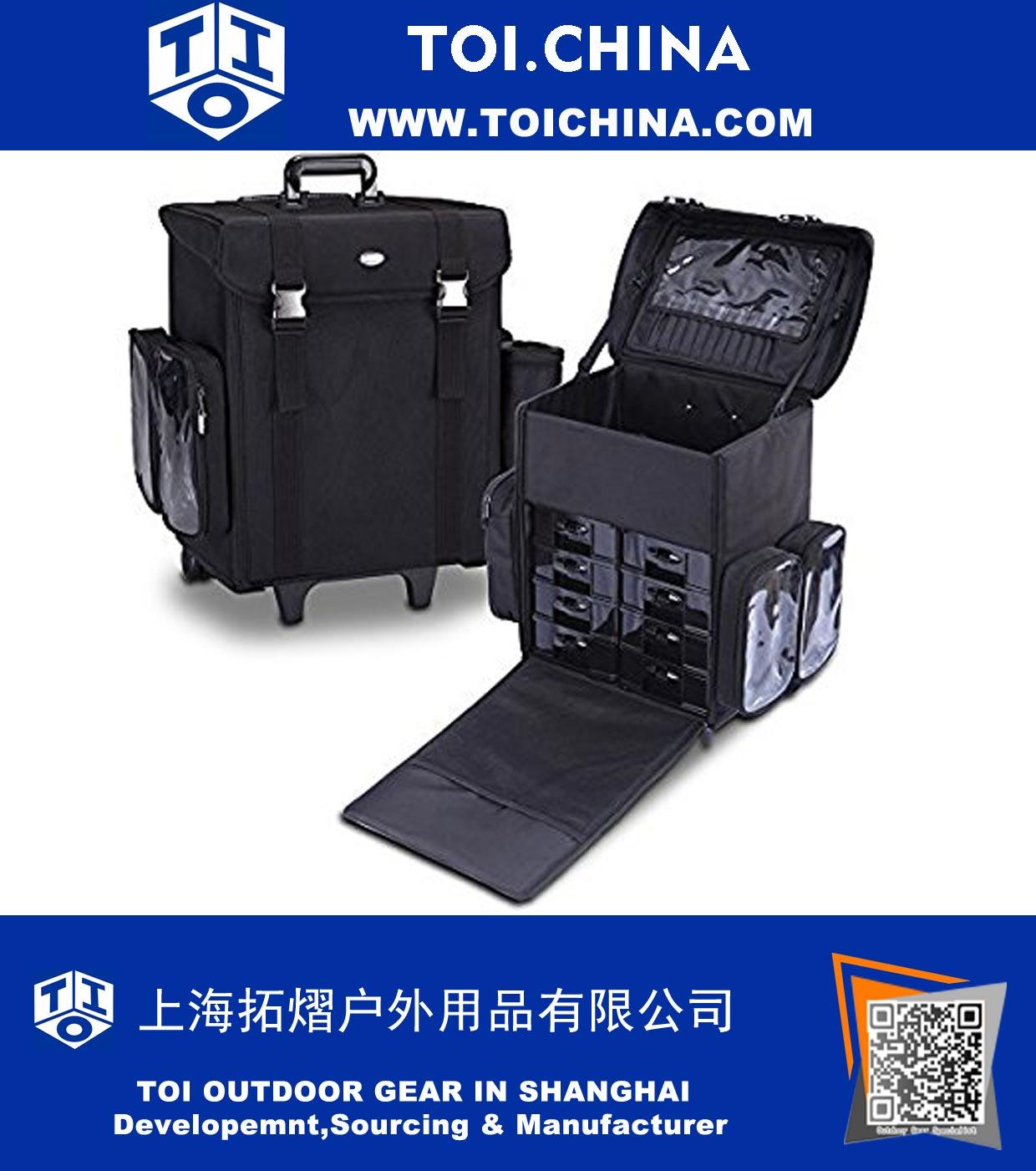93d449e8566f TOI.China: Profi sminkes bőrönd, puha kozmetikai táska kivehető ...