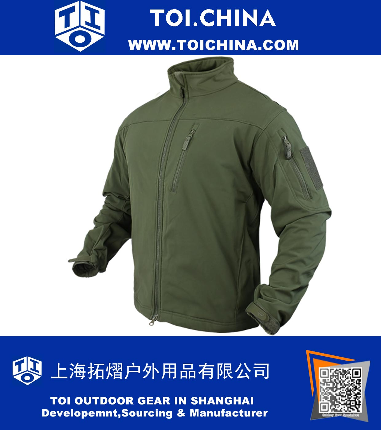 Soft Shell Jacket, ZT-CN002