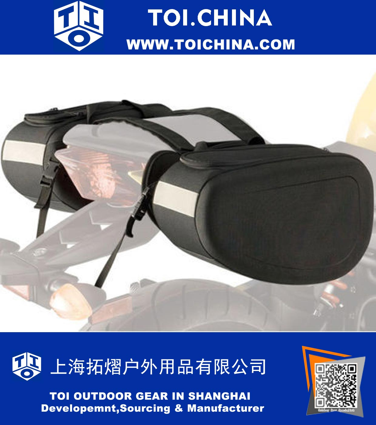 Sport Motorcycle Saddlebags, ST-KZ011