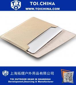 12 polegadas MacBook Case, TechCode Novo Tablet Bag Laptop Sleeve, Soft PU Leather Notebook Protective Pacote Envelope saco de transporte para o caso cobrem todas as 12 polegadas de exibição