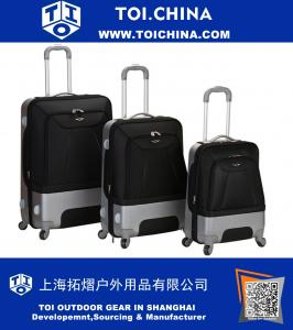 3-Piece Valencia Rolling Luggage Set