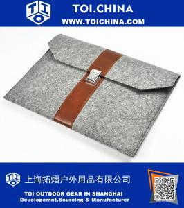Laptop sleeve,leather laptop bag