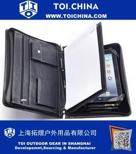 iPad Full Grain cas de portefeuille vachette en cuir pour iPad