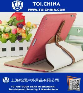iPad Mini Case (1 and 2),Jinli- Leather Smart Cover with Kick Stand for Apple iPad Mini and iPad Mini 2